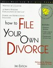 How to File Your Own Divorce