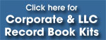 Click here for Corporate & LLC Record Book Kits